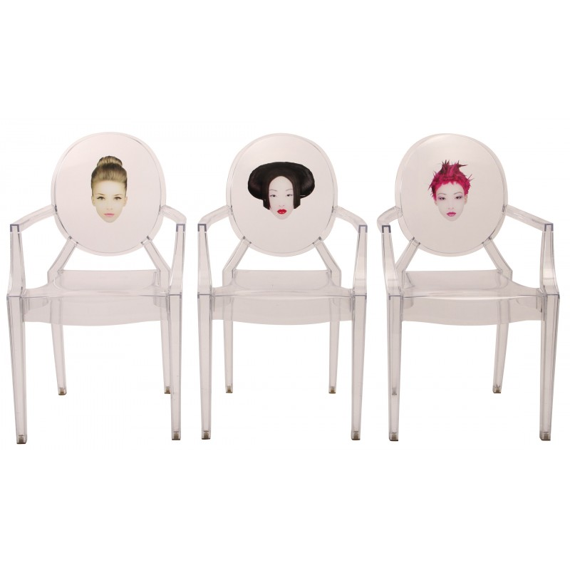 chairs louis ghost philippe starck 2000s