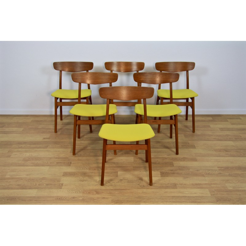 danish dining chair wingback covers amazon set of 6 chairs in teak farstrup 1960s design market