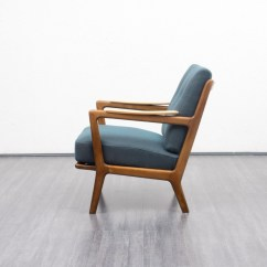 Vintage Arm Chair Chairs Under 50 2 Armchair In Shapely Solid Beech Wood Frame 1950s Design Previous