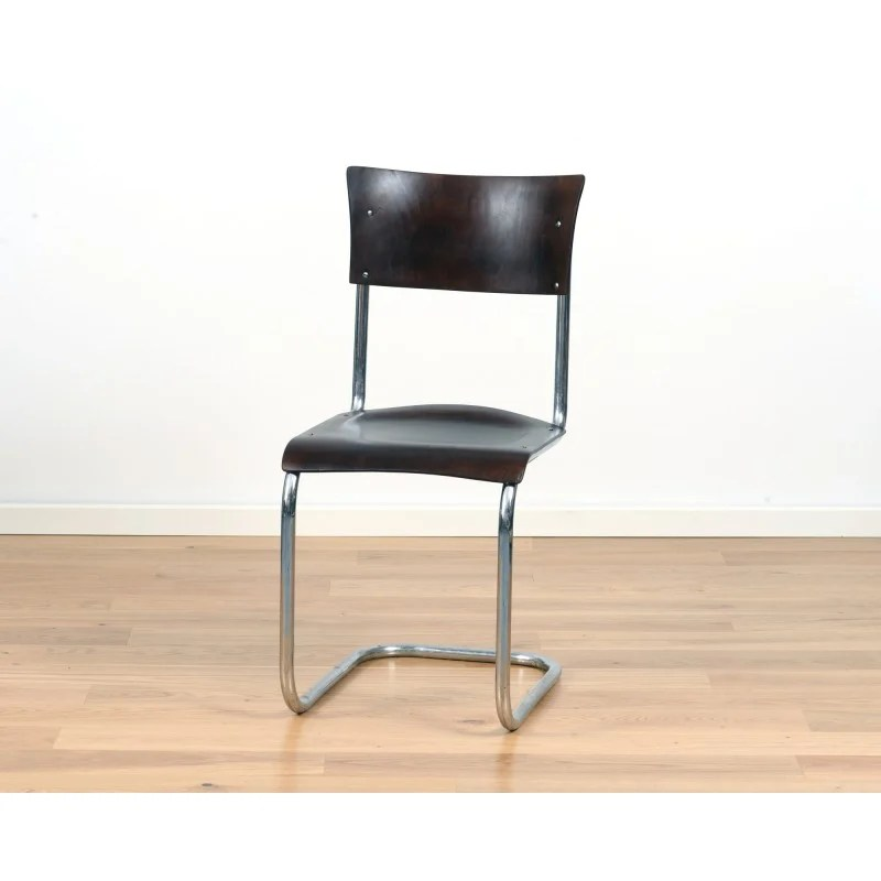 bauhaus swivel chair black cross back chairs s43 cantilever by mart stam for thonet 1940s