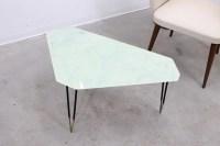 Mid-Century Italian Geometric Glass Coffee Table - 1950s ...