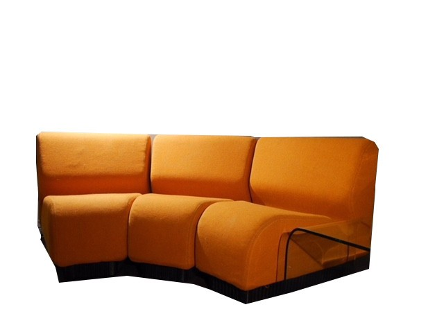 chadwick sofa lexmod monterey outdoor wicker rattan sectional set 3 seater orange modular by don for hermann miller previous next