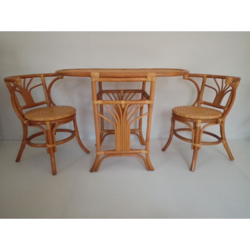 2 chairs and table rattan lowes adirondack chair plans set of vintage in design market