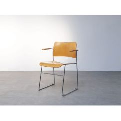David Rowland Metal Chair Recliner India Vintage 440 By With Arms 1960 Design Market