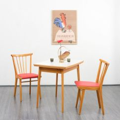 Vintage Kitchen Chairs Modern Design Set Of 2 In Solid Beech Market Designer Furniture