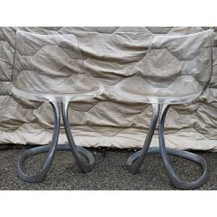 Modern Steel Chair Design Best Company Pair Of Vintage Chairs By Michel Charron Market