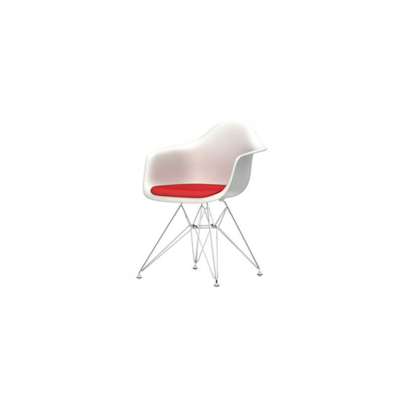 What a difference a decade makes! Plastic Armchair Dar With Seat Pad By Charles And Ray Eames For Vitra Design Market
