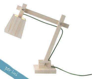 Muuto, lampada da tavolo Wood Lamp