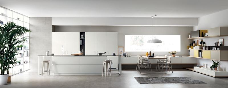 cucina living la ricetta di Foodshelf di Scavolini  design outfit