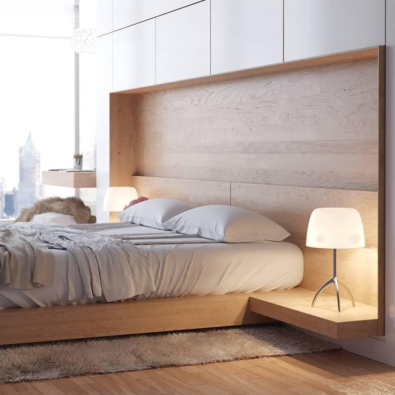 testiera di design per chi ama leggere a letto design outfit