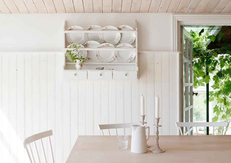 Natural Life in Denmark, in un cottage shabby