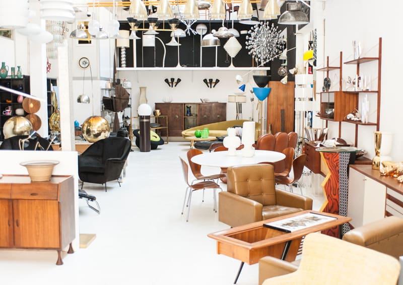 dove comprare mobili vintage, indirizzi utili