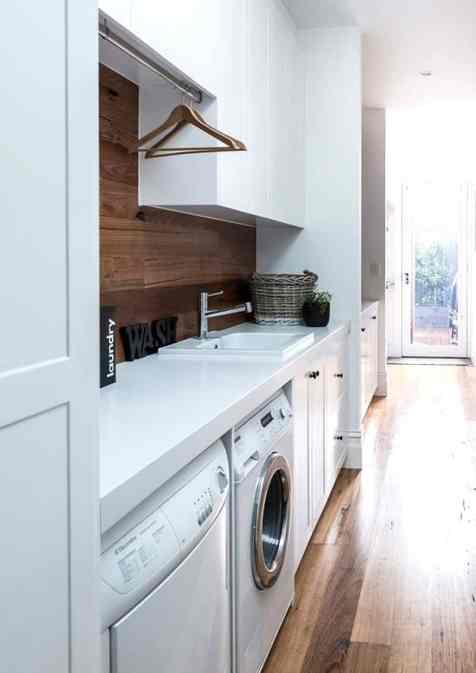 angolo lavanderia | immagine via Home Tree Atlas