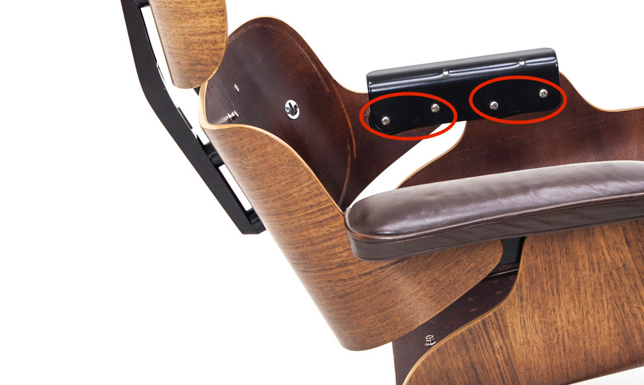 Shock Mounts Lounge Chair Armrest