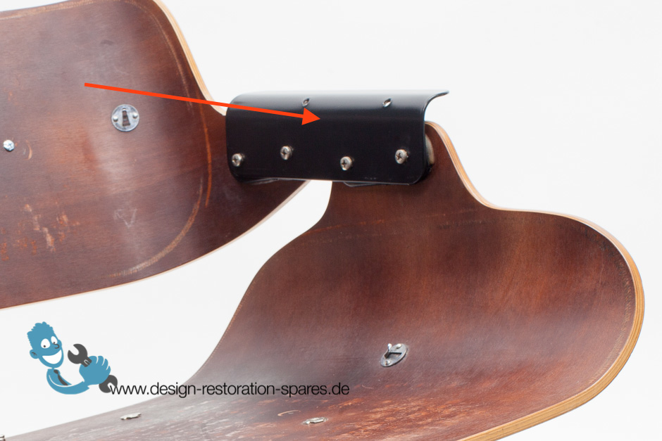 chair design back angle bowl ikea pair of eames lounge seat to shell connecting plate base