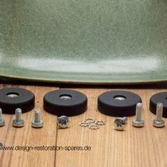 Herman Miller Eames Chair Repair Toddler Boy Chairs Replacement Shock Mounts Fiberglas