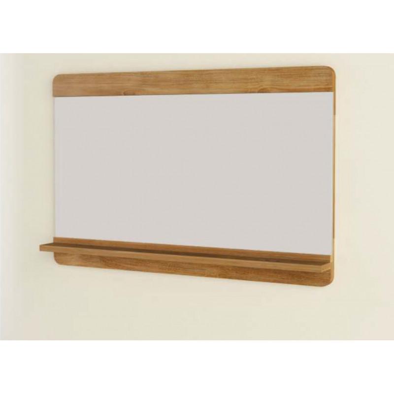 Miroir En Teck Maffin 100cm