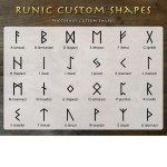 Rune Custom Shapes by: asgardstudios