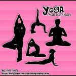 Yoga Custom Shapes by: darkmiss29