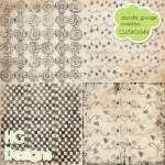 Doodle Grunge Overlays by: HG Designs