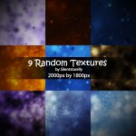 9 Random Textures by: Silent Starelly
