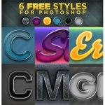 6 FREE Photoshop Styles by: era-89