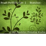Beautiful Branches Brushes by: Libertiny