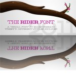 The Rider Font by: Mawns Typography