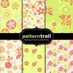 Free Floral Photoshop Patterns – Tiles