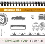 Retro Travel Brushes