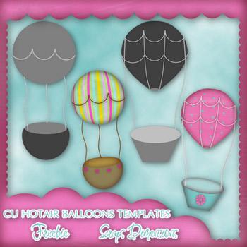 CU Hot Air Balloon Template   Design Share