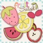 Free Doodle Brushes – Fruit Salad