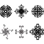 6 Decorative Ornaments Vectors