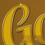Gold Text Effect Layer Style