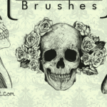 Commercial Use Skull Brushes for Photoshop