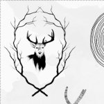Hipster Deer Brushes For Photoshop