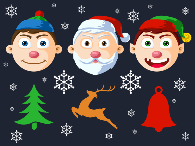 free-christmas-character-heads-psd-preview