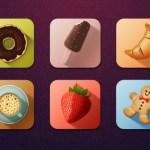 Tasty Icons Freebie