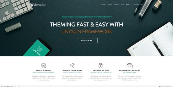 unyson_wordpress_framework