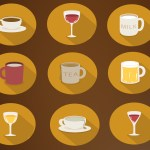 Flat Drink Icons