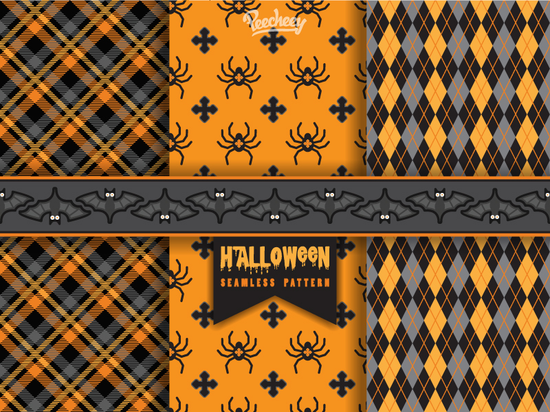 halloween backgrounds patterns