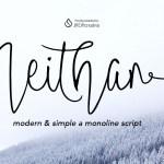 Neithan Brush Script Font