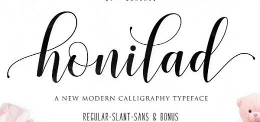 Free Calligraphy Brush Font