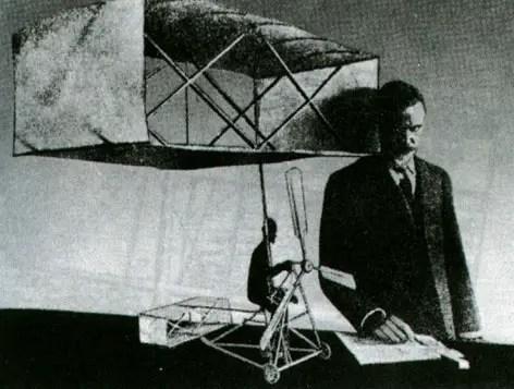 Lawrence Hargraves Box Kite Model