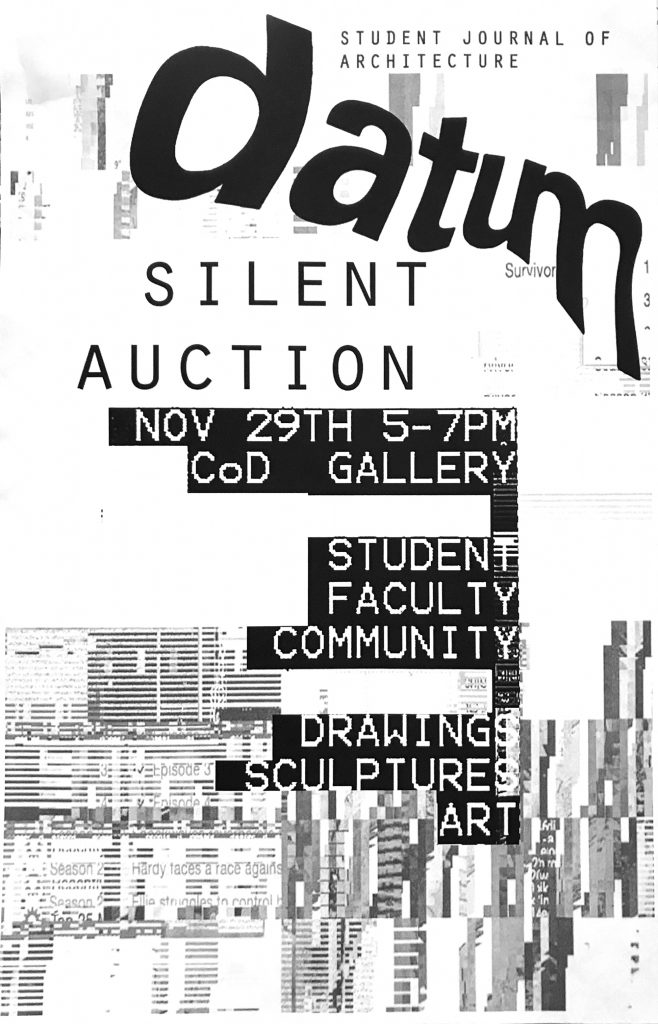 DATUM Silent Auction : Iowa State University College of Design