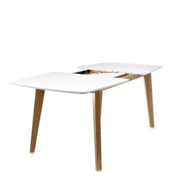 Tavolo allungabile rettangolare design scandinavo legno