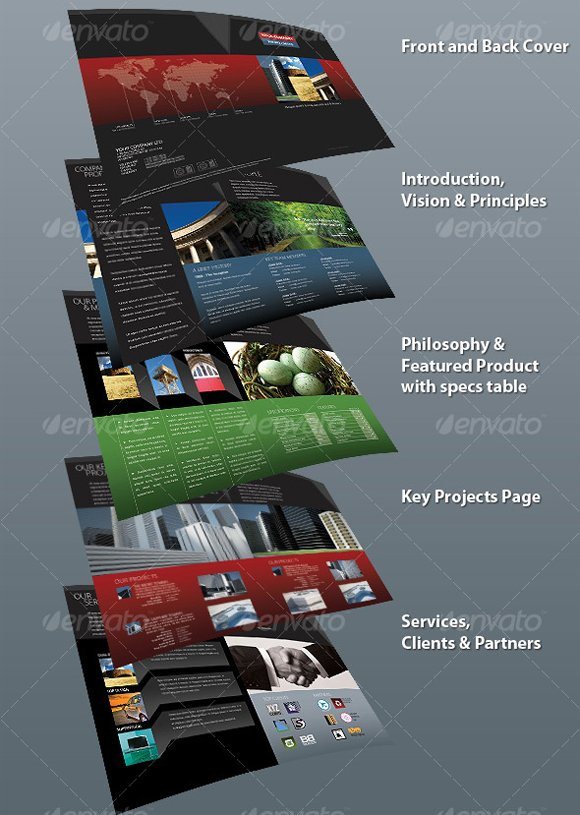 Best Brochure Design Templates Design3edge Com