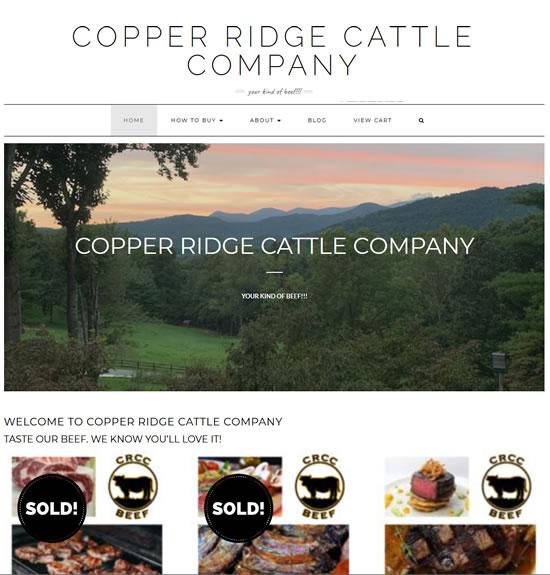 Copper Ridge Cattle Company www.copperidgecattlecompany.com