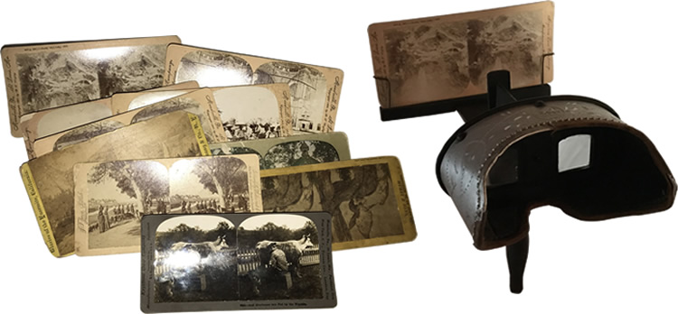 The Holmes Stereoscope, Stereoscope Viewers & Cards