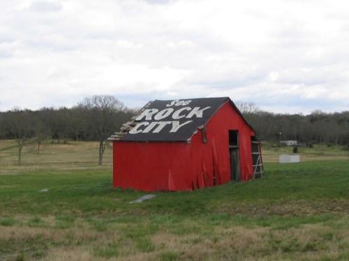 See Rock City barn
